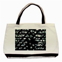 Blue freedom Basic Tote Bag (Two Sides)