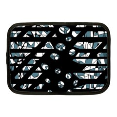 Blue freedom Netbook Case (Medium)