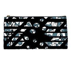 Blue freedom Pencil Cases