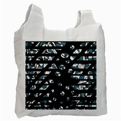 Blue freedom Recycle Bag (Two Side)