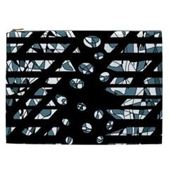 Blue freedom Cosmetic Bag (XXL)