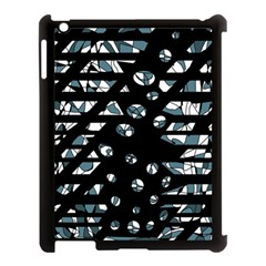 Blue freedom Apple iPad 3/4 Case (Black)