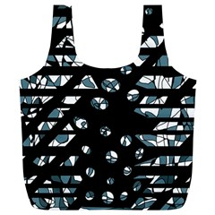 Blue freedom Full Print Recycle Bags (L)