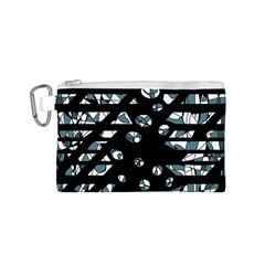 Blue freedom Canvas Cosmetic Bag (S)