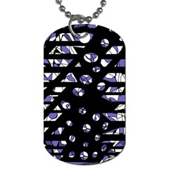 Purple freedom Dog Tag (Two Sides)