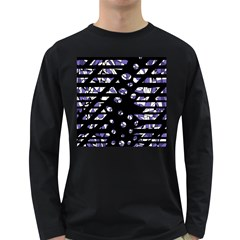 Purple freedom Long Sleeve Dark T-Shirts
