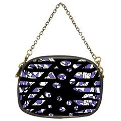 Purple freedom Chain Purses (Two Sides)