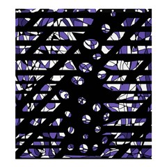 Purple freedom Shower Curtain 66  x 72  (Large)