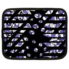 Purple freedom Netbook Case (XL)