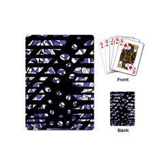 Purple freedom Playing Cards (Mini)
