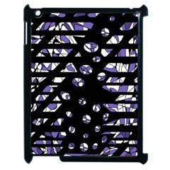 Purple freedom Apple iPad 2 Case (Black)