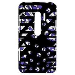 Purple freedom HTC Evo 3D Hardshell Case