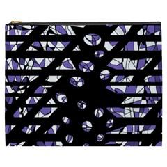 Purple freedom Cosmetic Bag (XXXL)