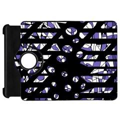 Purple freedom Kindle Fire HD Flip 360 Case