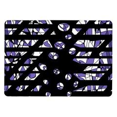 Purple freedom Samsung Galaxy Tab 10.1  P7500 Flip Case