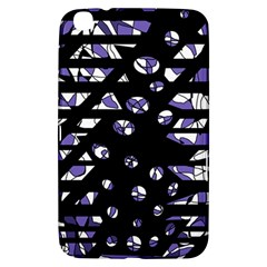 Purple freedom Samsung Galaxy Tab 3 (8 ) T3100 Hardshell Case