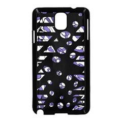 Purple freedom Samsung Galaxy Note 3 Neo Hardshell Case (Black)