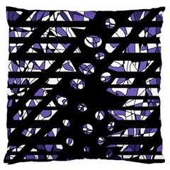 Purple freedom Standard Flano Cushion Case (Two Sides)