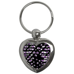 Violet freedom Key Chains (Heart)