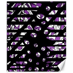 Violet freedom Canvas 8  x 10