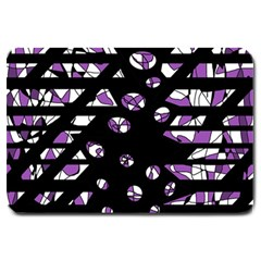 Violet freedom Large Doormat