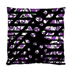Violet freedom Standard Cushion Case (One Side)