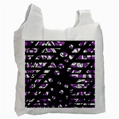 Violet freedom Recycle Bag (One Side)