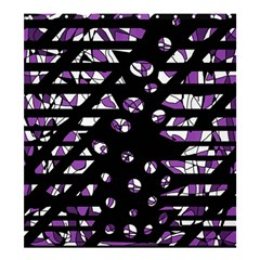 Violet freedom Shower Curtain 66  x 72  (Large)