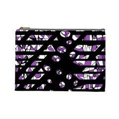 Violet freedom Cosmetic Bag (Large)