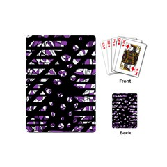 Violet freedom Playing Cards (Mini)