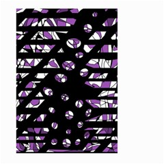 Violet freedom Large Garden Flag (Two Sides)