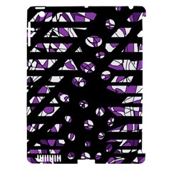 Violet freedom Apple iPad 3/4 Hardshell Case (Compatible with Smart Cover)