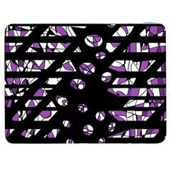 Violet freedom Samsung Galaxy Tab 7  P1000 Flip Case