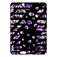 Violet freedom Kindle Fire HDX Hardshell Case