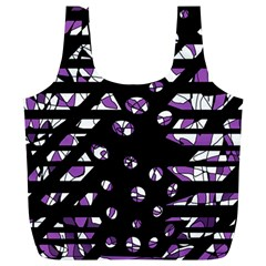Violet freedom Full Print Recycle Bags (L)