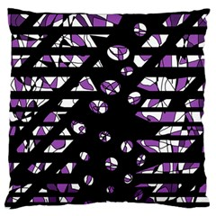 Violet freedom Standard Flano Cushion Case (One Side)