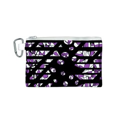 Violet freedom Canvas Cosmetic Bag (S)