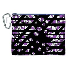 Violet freedom Canvas Cosmetic Bag (XXL)