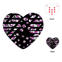 Magenta freedom Playing Cards (Heart)