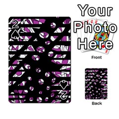 Magenta freedom Playing Cards 54 Designs