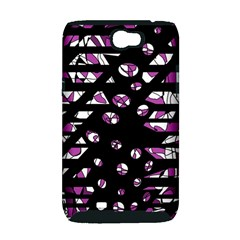 Magenta freedom Samsung Galaxy Note 2 Hardshell Case (PC+Silicone)