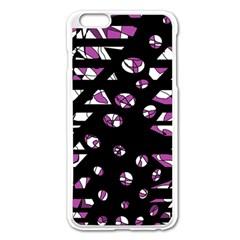Magenta freedom Apple iPhone 6 Plus/6S Plus Enamel White Case