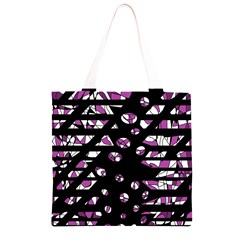 Magenta freedom Grocery Light Tote Bag