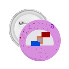 Decorative abstract circle 2.25  Buttons