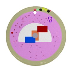 Decorative abstract circle Ornament (Round)
