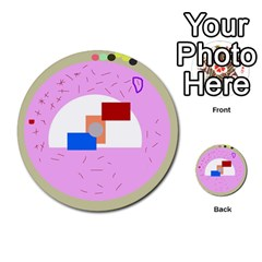 Decorative Abstract Circle Multi Purpose Cards (round)