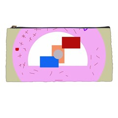 Decorative abstract circle Pencil Cases