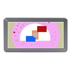 Decorative abstract circle Memory Card Reader (Mini)