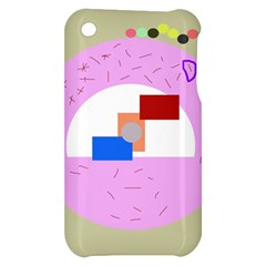 Decorative abstract circle Apple iPhone 3G/3GS Hardshell Case
