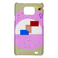 Decorative abstract circle Samsung Galaxy S2 i9100 Hardshell Case